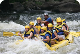 descenso rafting